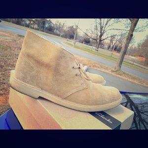Clarks Desert boot / Oakwood Suede